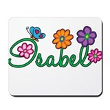 Isabel Flowers Mousepad