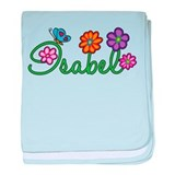 Isabel Flowers baby blanket