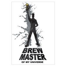 Funny Beer making Wall Art