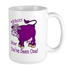 Purple Cow / Poem Mug