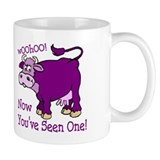 Purple Cow / Poem Small Mug