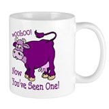 Purple Cow / Poem Coffee Mug