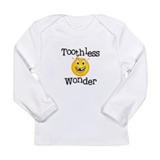 Toothless Wonder Long Sleeve Infant T-Shirt