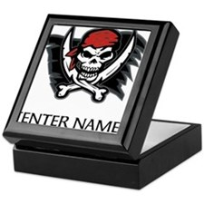 Pirate Flag Personalize! Keepsake Box