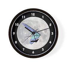 Moon Flyer Wall Clock