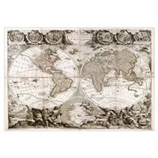 1708 World Map