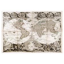 1708 World Map
