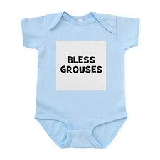 Bless Grouses Infant Creeper
