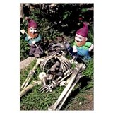 Sweet Revenge of the Garden Gnomes Print