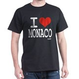 I love Monaco T-Shirt