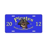 MVHS Pirate 2012 Aluminum License Plate