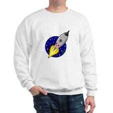 Spaceship Rocket Sweatshirt
