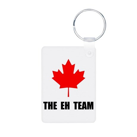 Canada The Eh Team Aluminum Photo Keychain