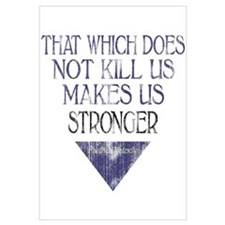 Nietzsche Quote Distressed