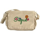 Ingrid Flowers Messenger Bag
