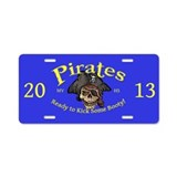 MVHS Pirates 2013 Aluminum License Plate