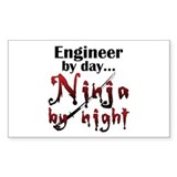 Engineer Ninja Decal