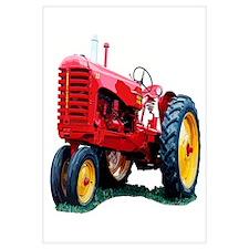 Funny Tractors Wall Art