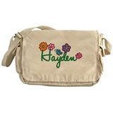 Hayden Flowers Messenger Bag