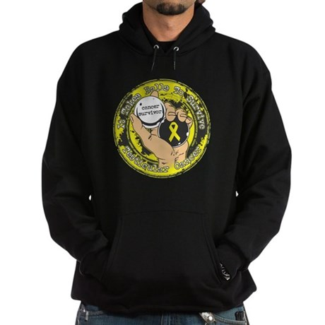 Testicular Cancer ItTakesBalls Hoodie (dark)