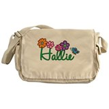 Hallie Flowers Messenger Bag