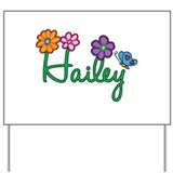 Hailey Flowers Yard Sign