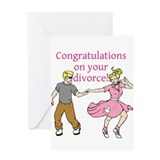 Congratulations on your divorce dirty whore card