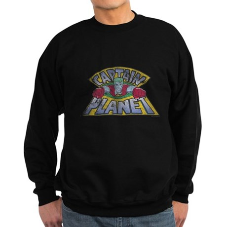 Vintage Captain Planet Dark Sweatshirt
