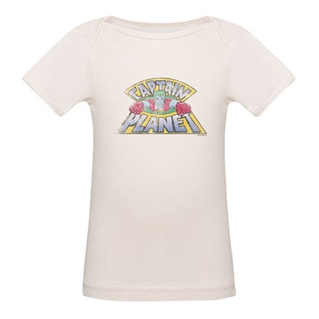 Vintage Captain Planet Organic Baby T-Shirt