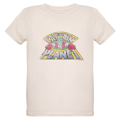 Vintage Captain Planet Organic Kids T-Shirt