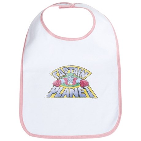 Vintage Captain Planet Bib