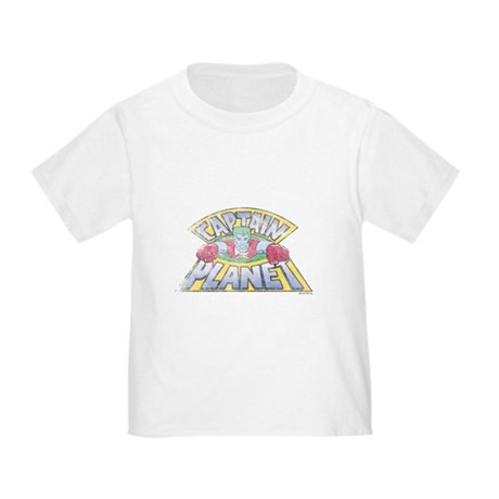 Vintage Captain Planet Toddler T-Shirt