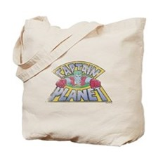 Vintage Captain Planet Tote Bag