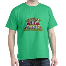 Captain Planet Logo Dark T-Shirt