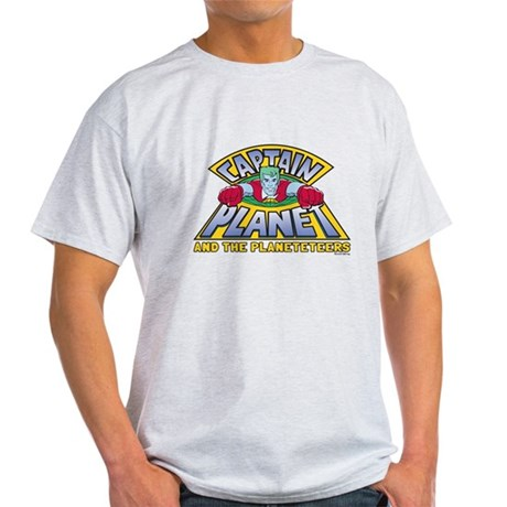 Captain Planet Logo Light T-Shirt