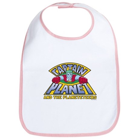 Captain Planet Logo Bib