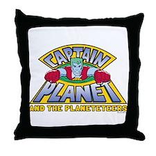 Captain Planet Logo Throw Pillow