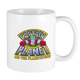 Captain Planet Logo Mug