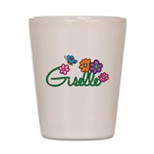 Giselle Flowers Shot Glass