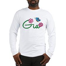 Gia Flowers Long Sleeve T-Shirt