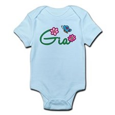 Gia Flowers Infant Bodysuit
