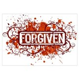 Cute Forgiven Wall Art