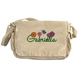 Gabriella Flowers Messenger Bag