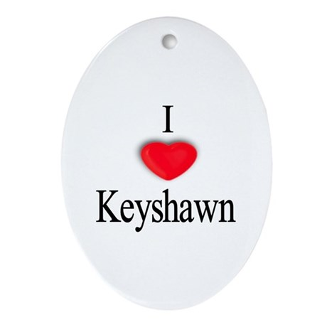 Keyshawn Oval Ornament