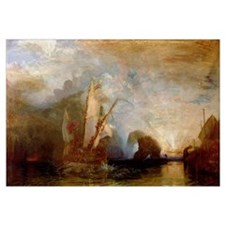 Cool Jmw turner Wall Art