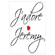 J'adore Jeremy Designs