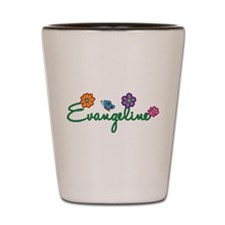 Evangeline Flowers Shot Glass