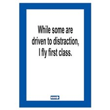 Driven to Distraction 11 x 17 Print