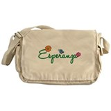 Esperanza Flowers Messenger Bag