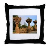 Unique  barcelona spain Throw Pillow